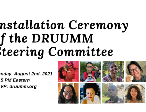Installation of our 2020-2021 Steering Committee